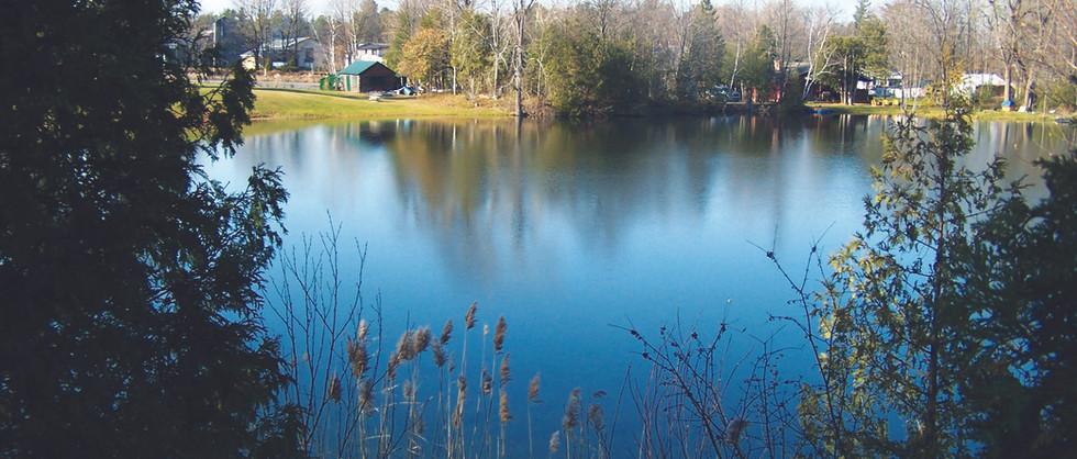 Vue du Lac, Chalet le Grand Héron