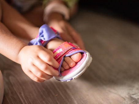 Parent Tips: What's The Best Way To Start My Child Wearing Shoes?