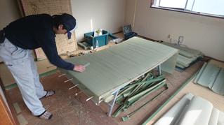 畳表替え 現場施工
