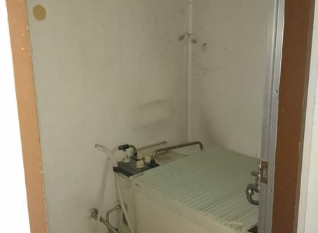 バランス釜のお風呂をユニットバスに交換