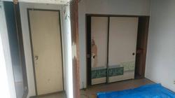 改修前の和室収納