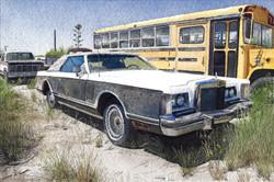 Lincoln Continental Mark V in Marathon, TX