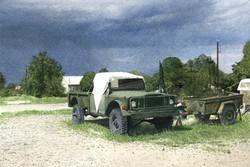 Jeep Gladiator in Marfa, TX