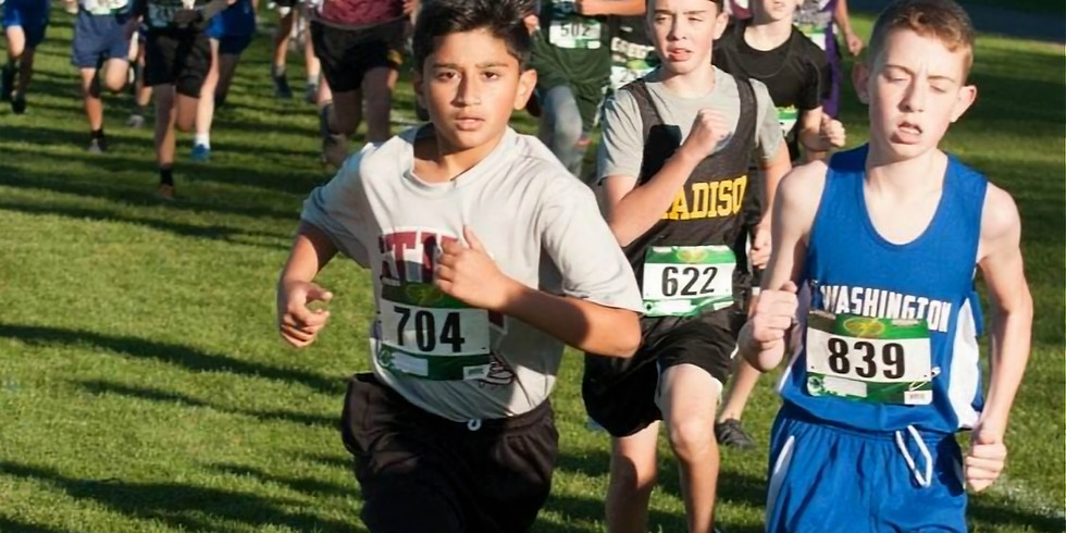 MS 2 mile and  Elementary 1 mile races