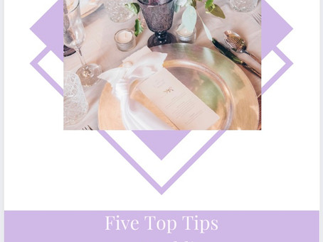 Guide To Wedding planning with 41 Portland Place