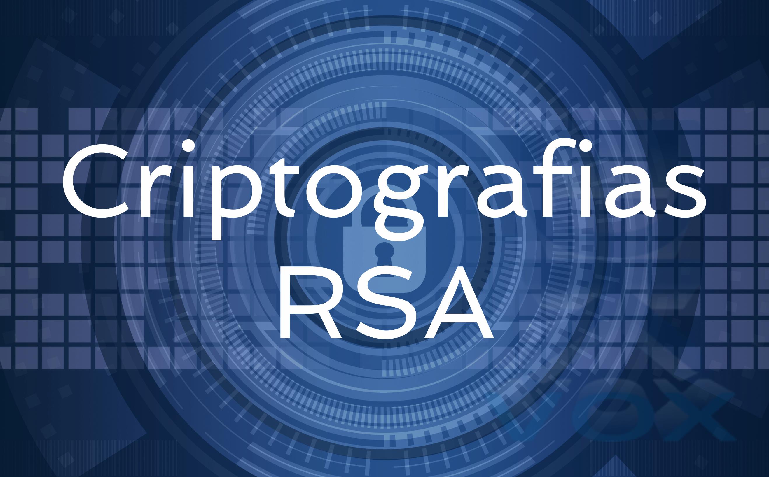 8. Criptografias RSA