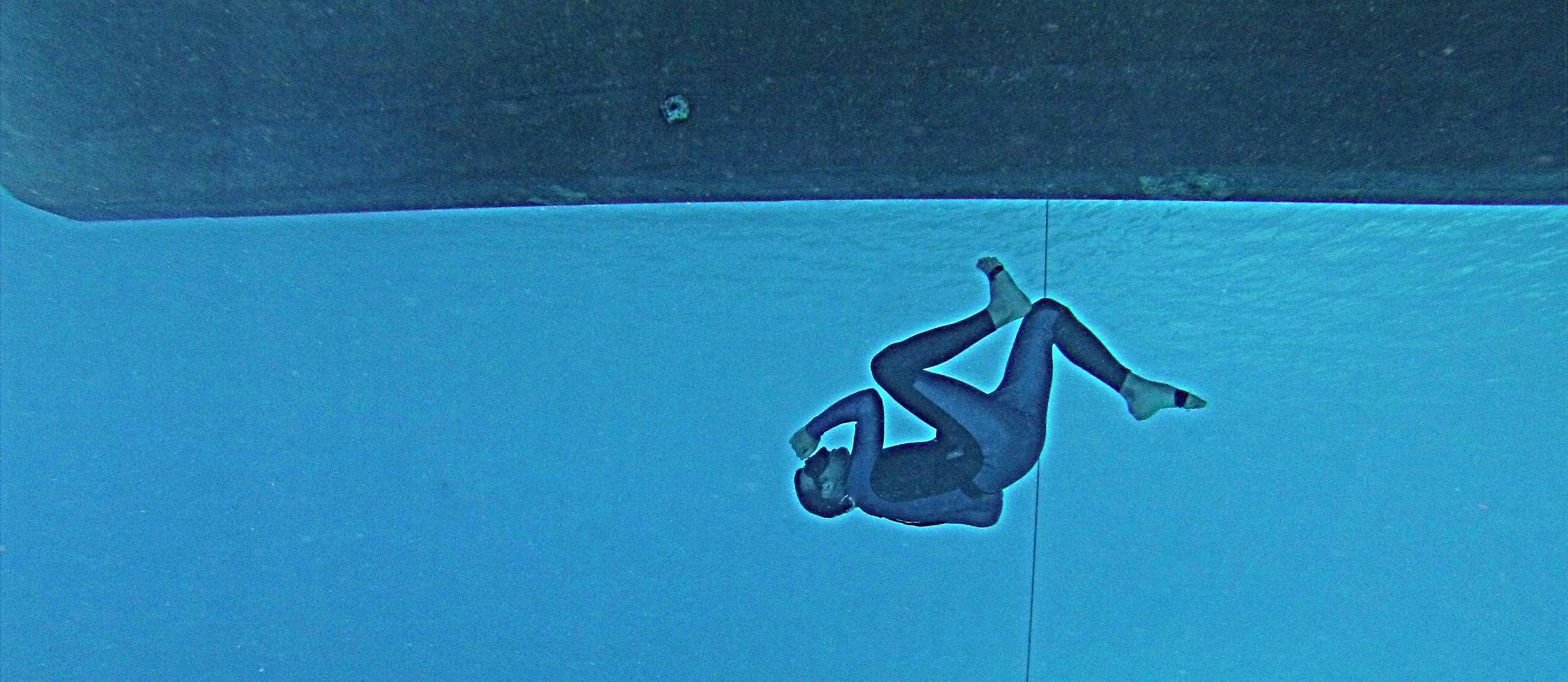 Su altında koşmaya hazır mısın?