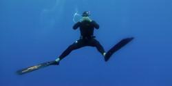spielen im Ozean