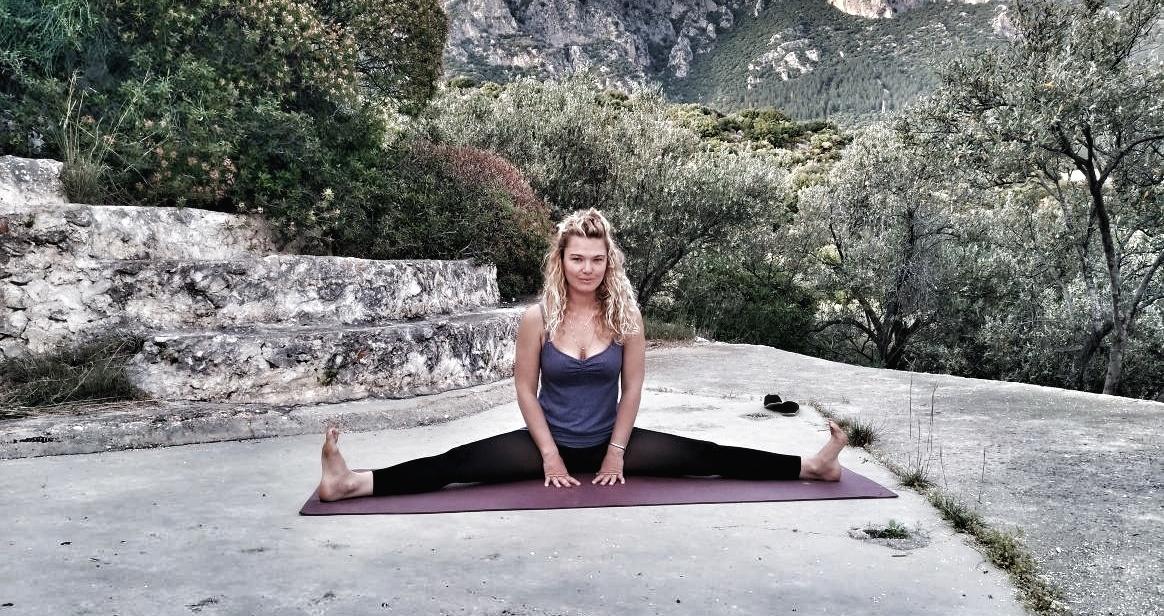 Yoga at Kaş camping