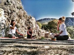 Yoga-Prayanama