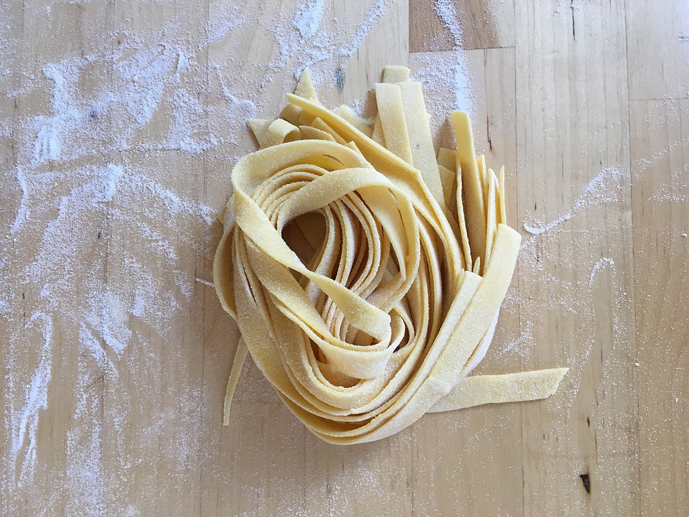 100 days of pasta blog 100 days of pasta handmade semolina pasta handcut fettuccine traditional italian cooking techniques boston food blog