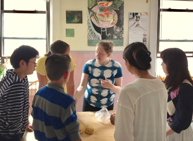 Teaching ichiko's pasta class, handmade pasta workshop, 100 days of pasta_