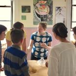 Teaching ichiko's pasta class, handmade