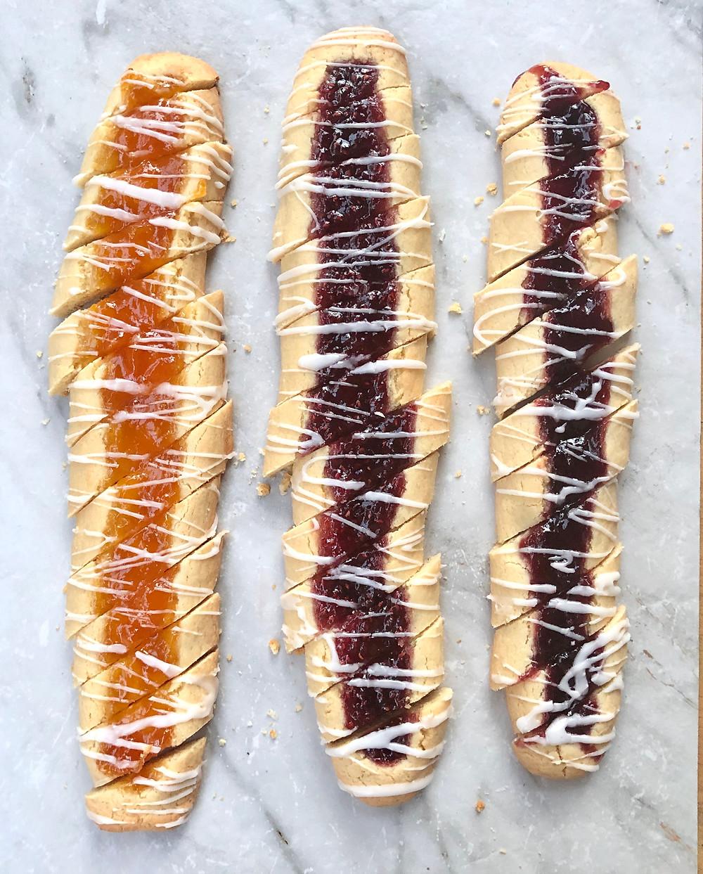 Jamaretti Cookies - #25daysofholidaycookies