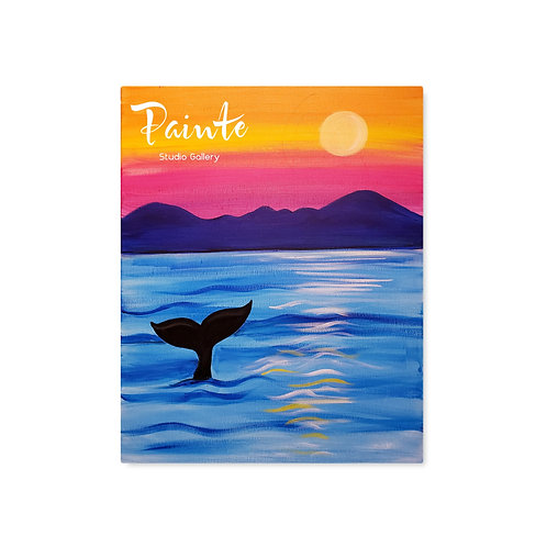 Painte Kit: Whale Whatching