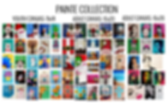 Painte Collection. Painting options for Open Paint Session.