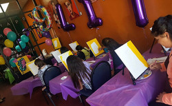 table cover balloons