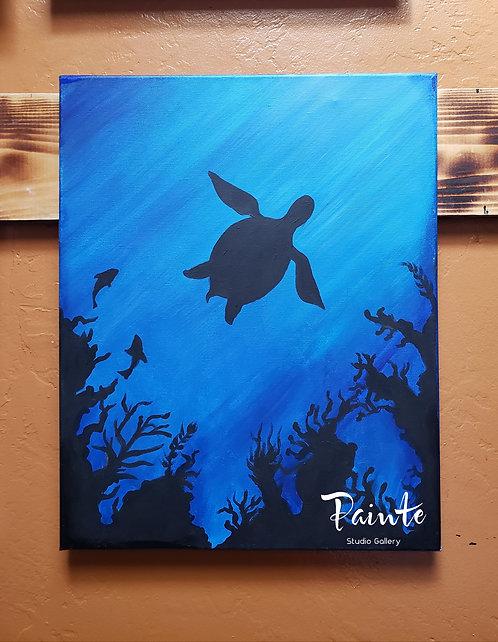 Painte Kit: Under the Sea Turtle