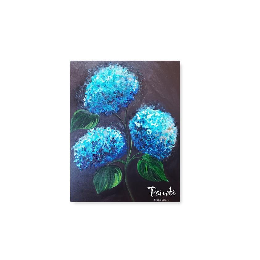 Virtual Paint Night: Feeling Blue