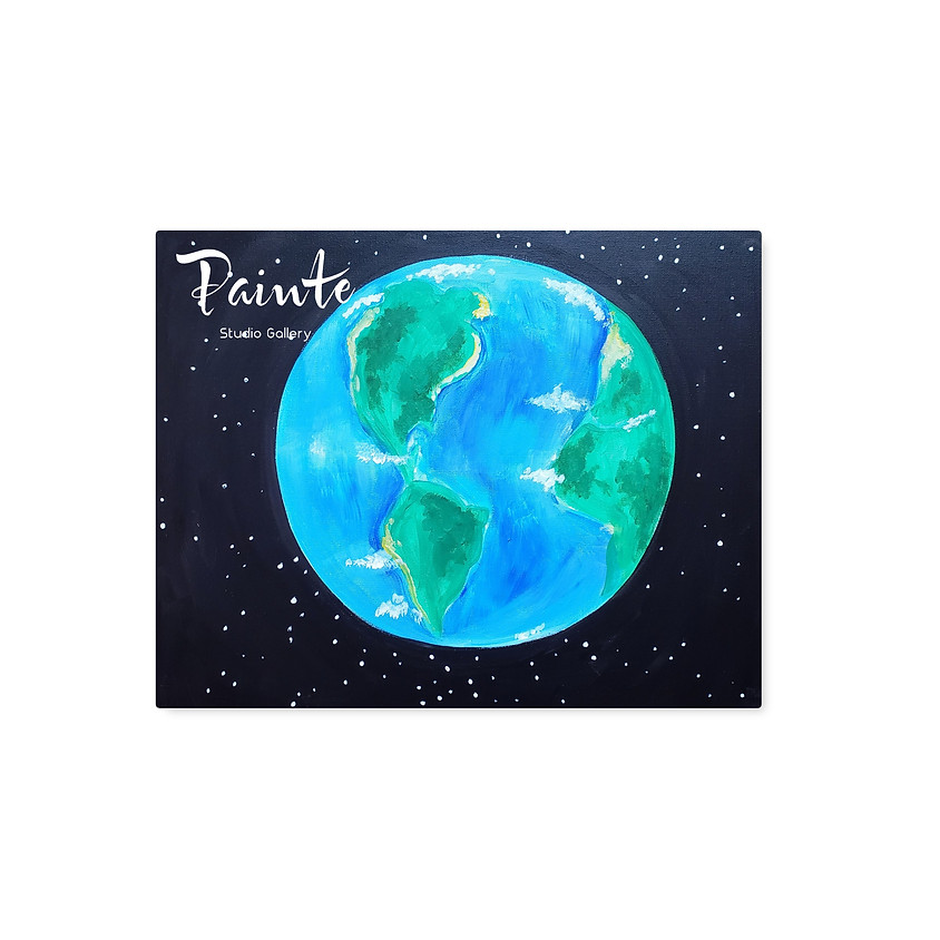 Virtual Youth Paint Class: Mother Earth