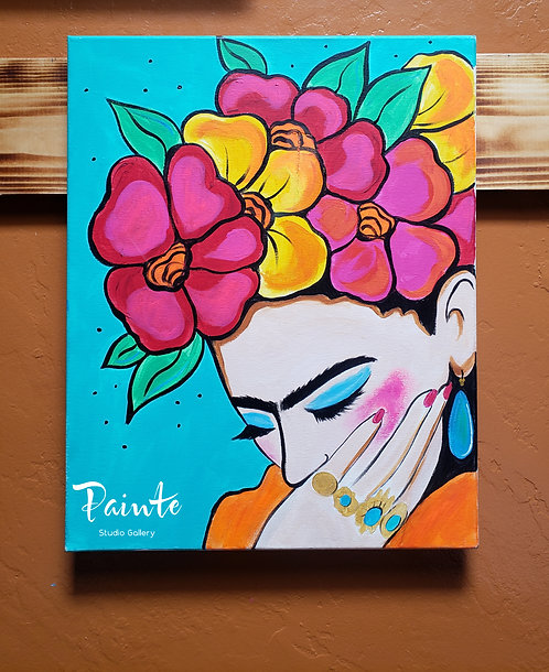 Painte Kit: Resting Frida Face