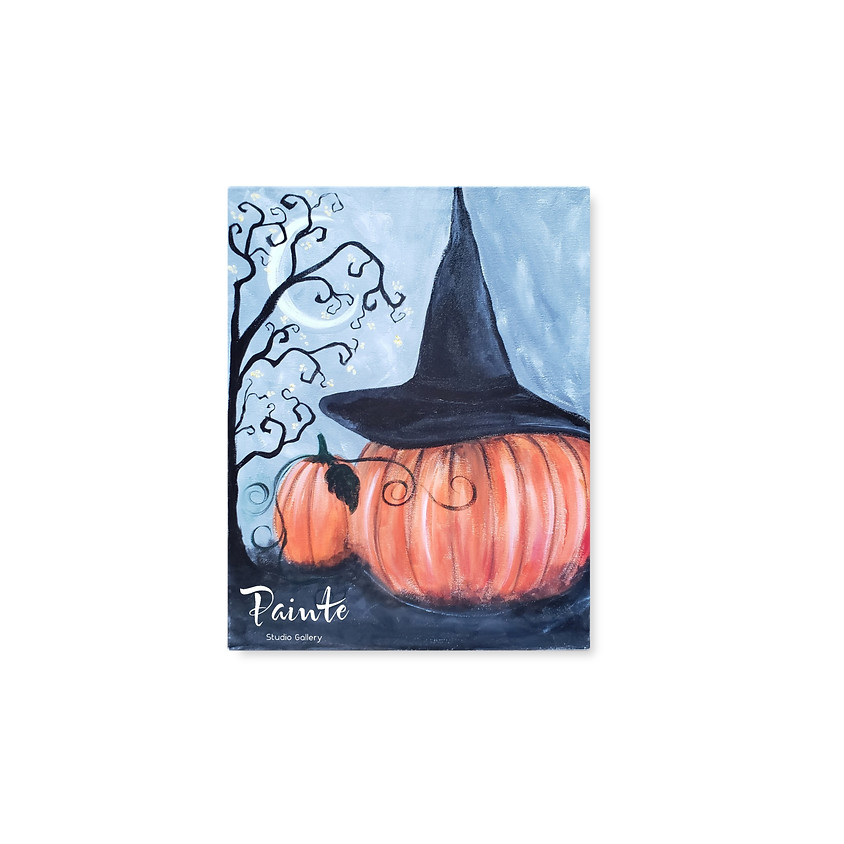 Virtual Paint Night: Pumpkin Spice (1)