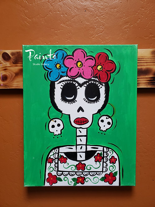 Painte Kit: Frida Skull