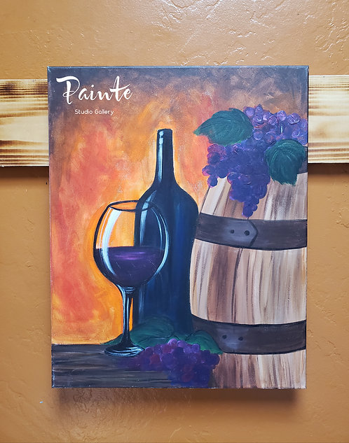 Paint Class Kit: Wine Country