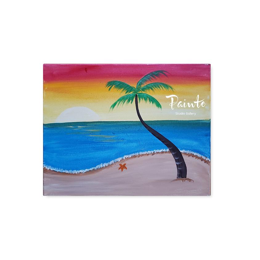 Dream Vacation - Free Virtual Paint Class