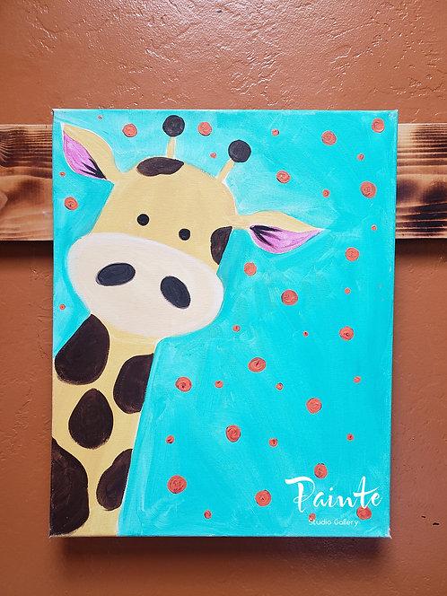 Painte Kit: Giraffe Selfie