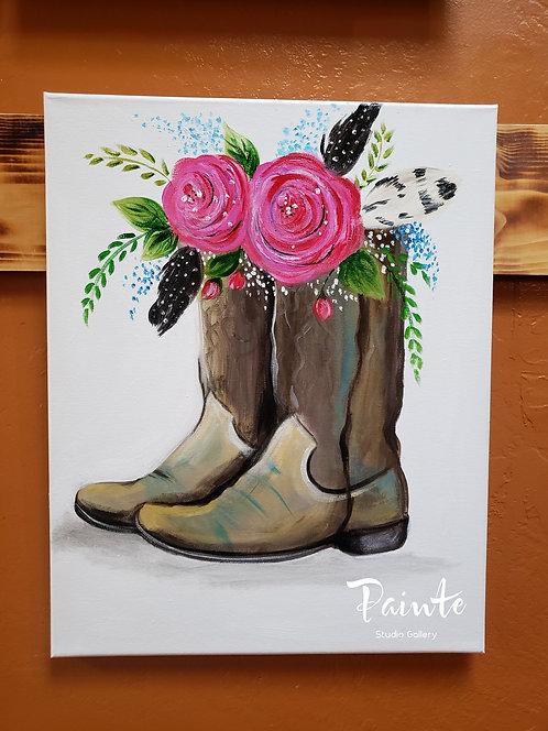 Paint Class Kit: Western Wear