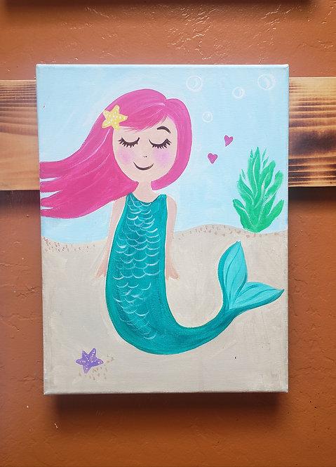 Painte Kit - Little Mermaid