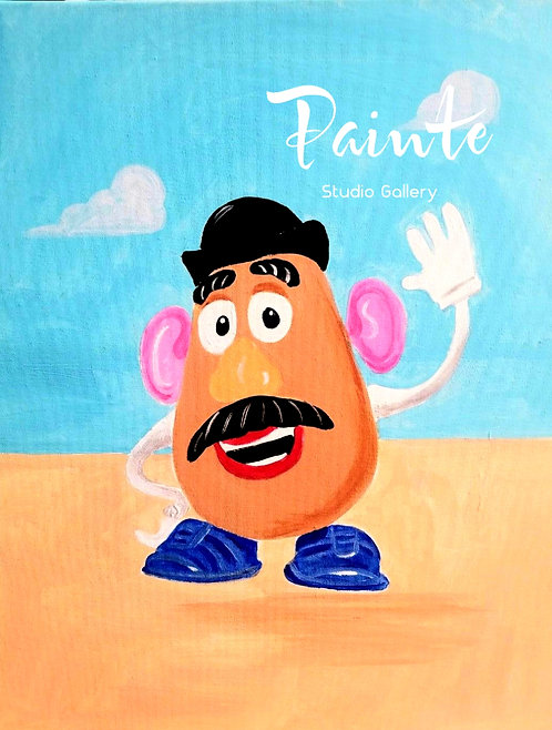 Painte Kit: Mr. Potato Head