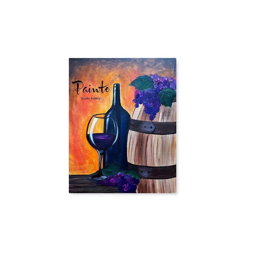 Wine & Paint at Pessagno