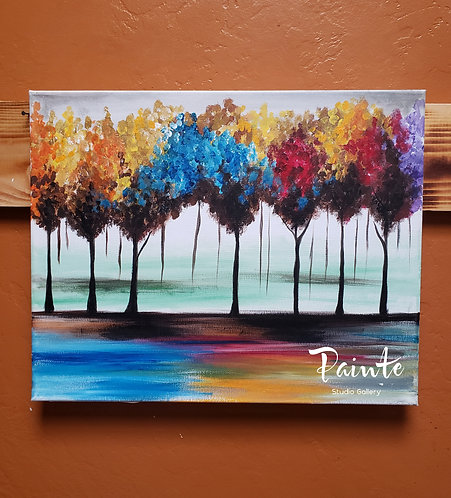 Paint Class Kit: Fallen Leaves