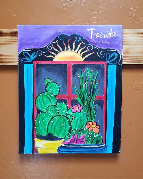 Painte Kit: Succulent Garden