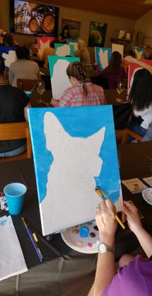 We sketch it, you paint it!