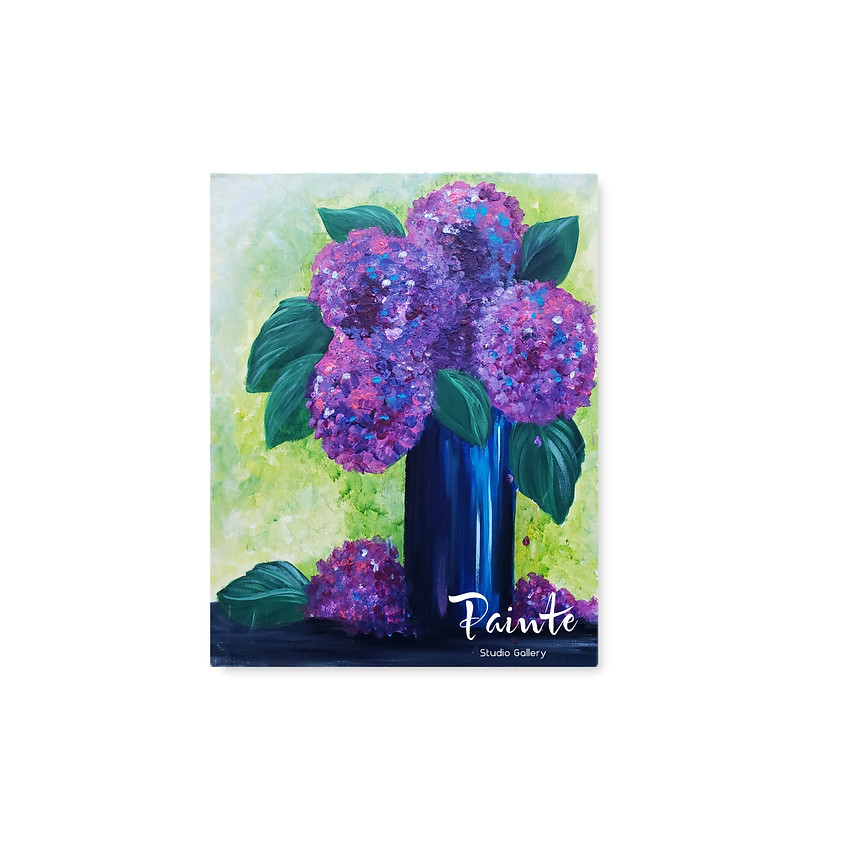 Virtual Paint Night: Full Blooms