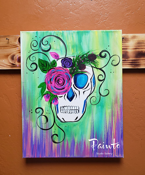 Paint Class Kit: Day of the Dead