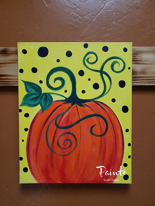 Painte Kit: Pumpkin Party
