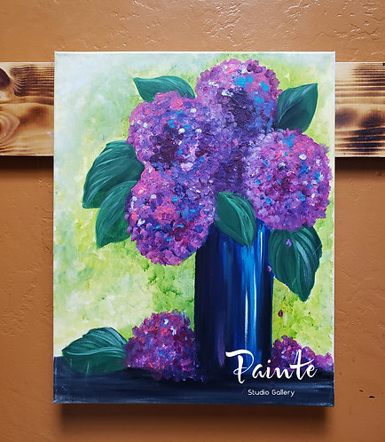 Paint Class Kit: Full Blooms