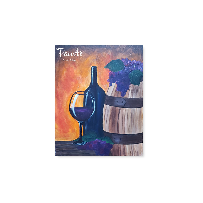 Virtual Paint Night: Wine Country