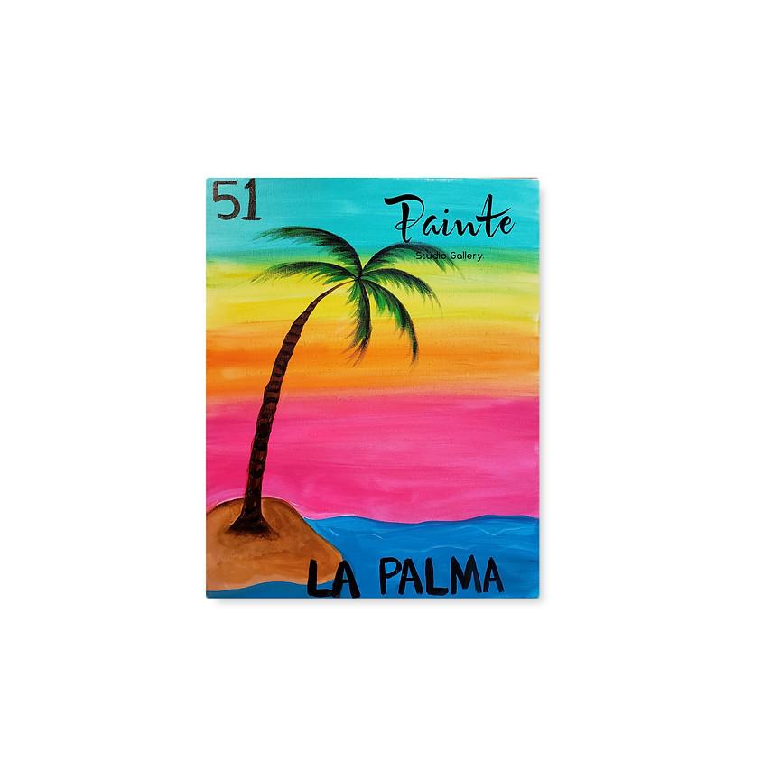 FREE Virtual Paint Class: The Palm Tree