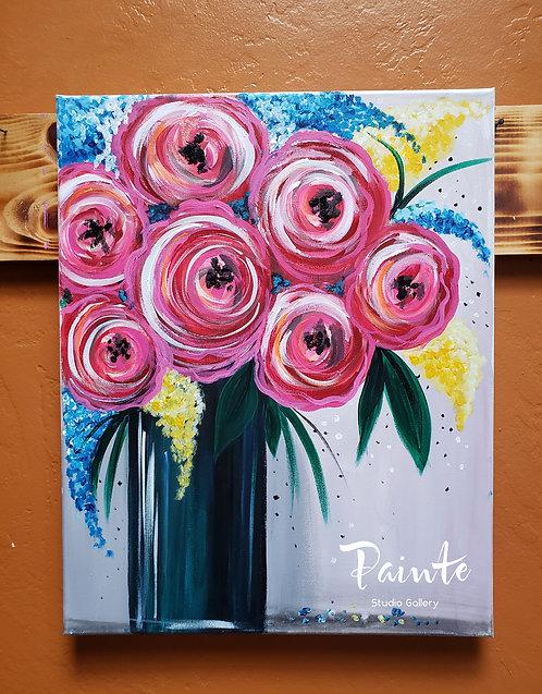 Paint Class Kit: Rose Water