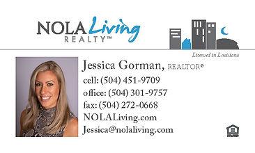 NOLALiving_BusinessCard - Jessica Gorman