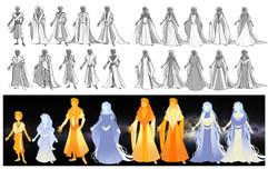 Exploration de costumes