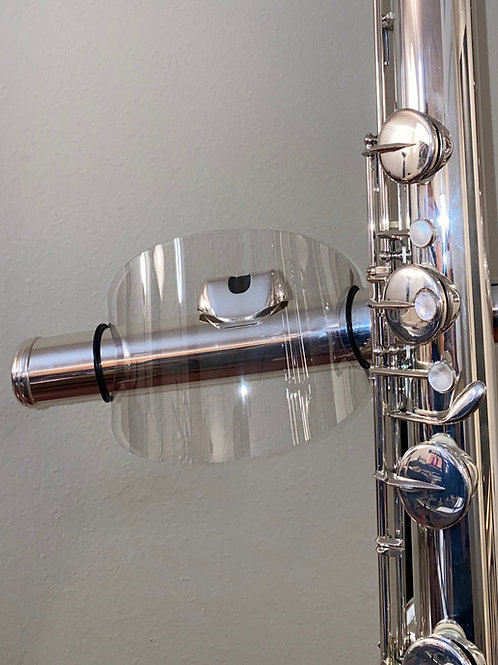 Contra Bass Flute Air Shield