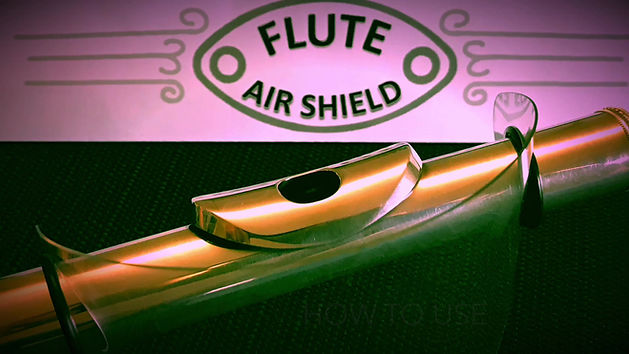 How to attach the Flute Air Shield to your flute.