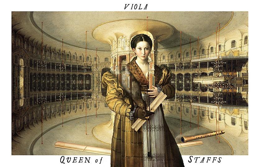 The Shakespeare Tarot - Viola