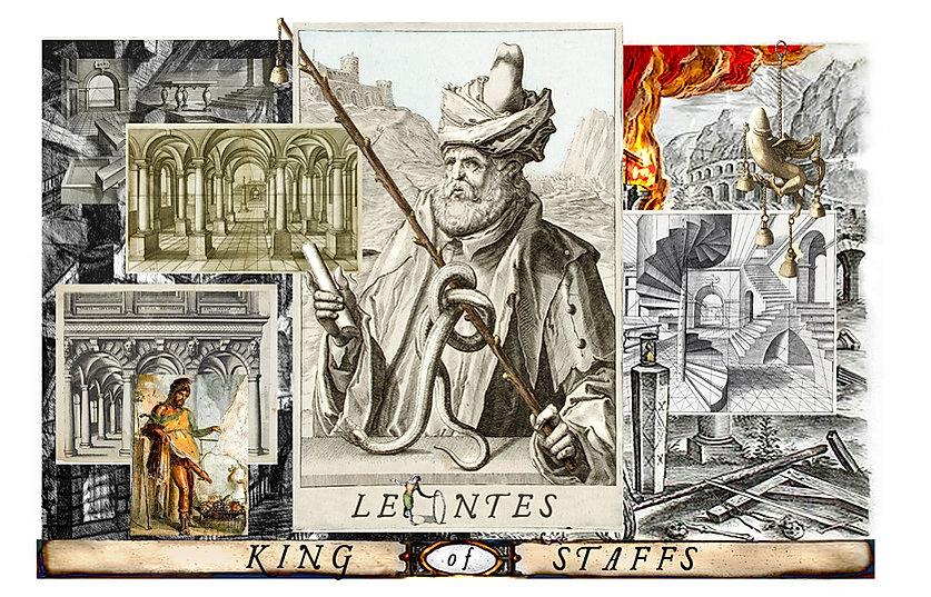 The Shakespeare Tarot - Leontes